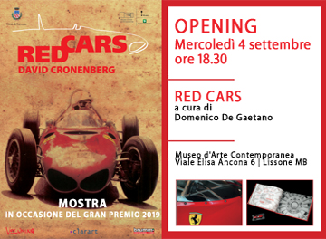 MAC - RED CARS di David Cronenberg