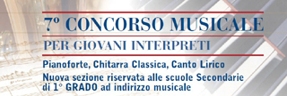 Logo 7 concorso musicale per giovani interpreti &quot;Citta&#039; di Lissone&quot;