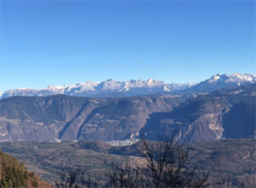 panorama alpino