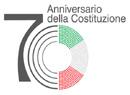 Logo 70 anniversario Costituzione Italiana