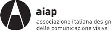 logo AIAP associazione italiana design della conunicazione visiva