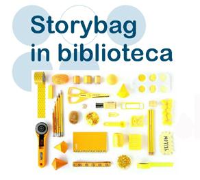 Immagine materiali utili per storybag