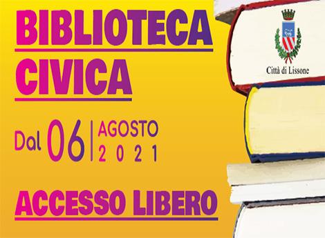 Retro Biblioteca Civica