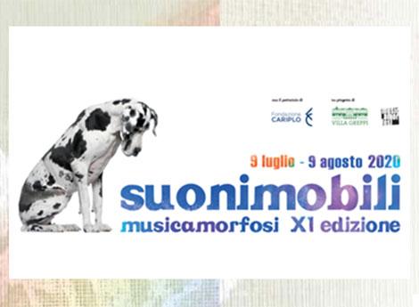 suonimobili musicamorfosi XI^ edizione - 9 luglio - 9 agosto 2020