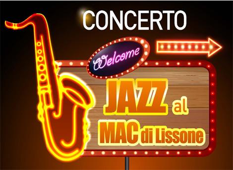 """Porzione locandina  Concerto jazz con la Jazz Band """"Lady Birds"""""""