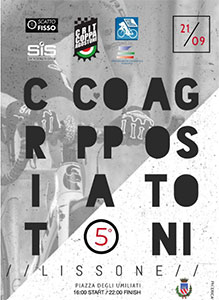 Locandina Criterium Coppa Agostoni