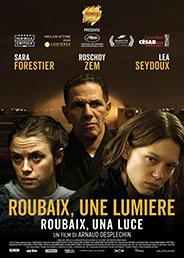 immagine locandina film ROUBAIX UNE LUMIERE