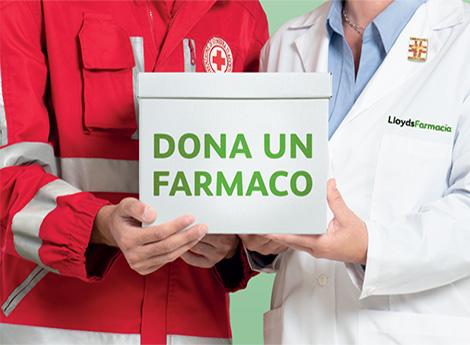 Lissone- Campagna di raccolta farmaci di LloydsFarmacia Comunali e Croce Rossa Italiana