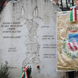 Immagine monumento alle Vittime delle Foibe - Lissone