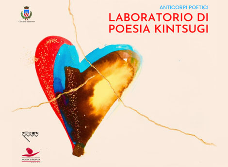 frammento locandina Laboratorio poesia Kintsugi