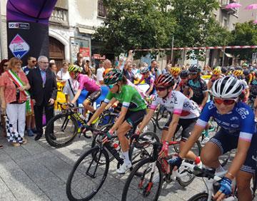GIRO ROSA ICCREA 2019  - Partenza della 4^ tappa Giro d'Italia Femminile 2019 da Lissone