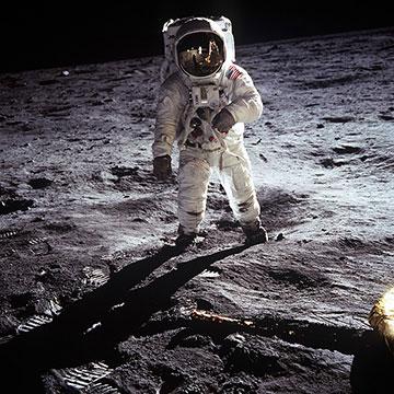 Immagine sbarco sulla Luna