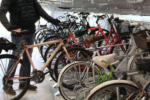 Lissone parcheggio biciclette presso Ciclostazione