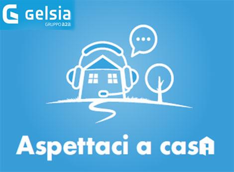 frammento immagine campagna Gelsia 'Aspettaci a casa'