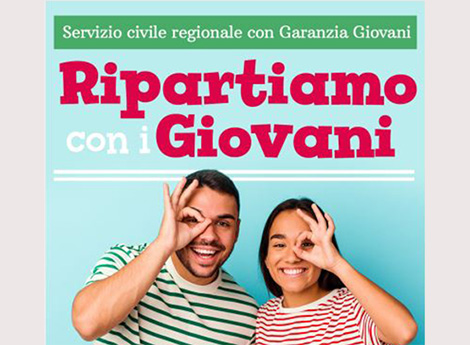 Servizio civile regionale con Garanzia Giovani 2021