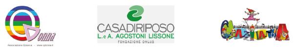 Loghi  Associazione QDonna  - CASA DI RIPOSO L.A. AGOSTONI LISSONE Fondazione Onlus -  Crazylandia