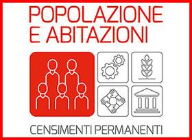 Logo Censimento Permanente della Popolazione e delle Abitazioni