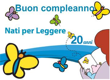 particolare locandina Buon compleanno Nati Per Leggere