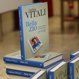 """Immagine Copertina del libro """"Bella Zio"""" di Andrea Vitali con Beppe Bergomi"""