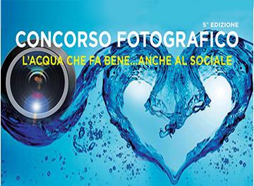 """""""L'Acqua che fa bene...anche al sociale""""  - concorso fotografico"""