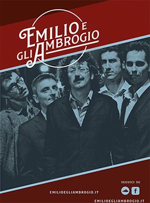 Frammento locandina: immagine band Emilio e gli Ambrogio