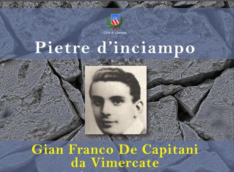 Immagine Gian Franco De Capitani da Vimercate