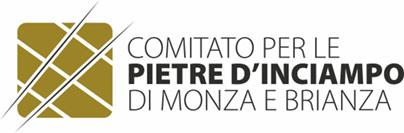 logo Comitato per le PIETRE D'INCIAMPO di Monza e Brianza