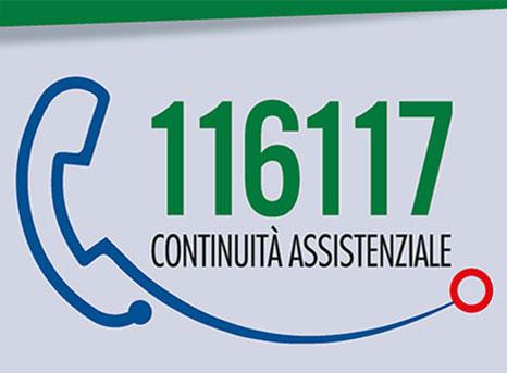 Numero Verde servizio di CONTINUITÀ ASSISTENZIALE (ex Guardia Medica)