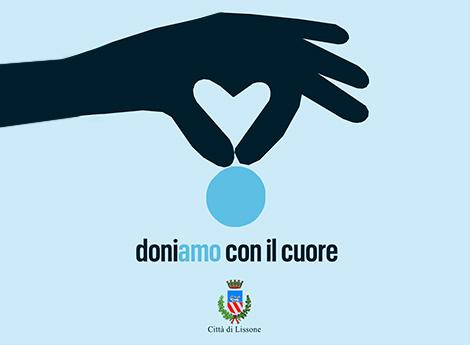 Logo doniamo con il cuore
