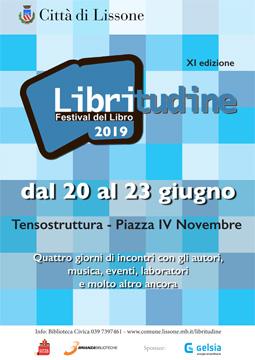 locandina Libritudine 2019 XI ed. Festival del Libro