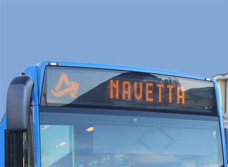 NAVETTA GRATUITA PER LO SHOPPING