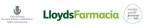 Logo Città di Lissone, LloydsFarmacia -  Energie Sociali Jesurum Lab