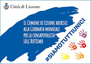 Lissone- Comunicato stampa - Giornata Mondiale della Consapevolezza dell'Autismo, il Comune si colora (virtualmente) di blu