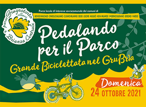 Pedalando per il Parco - Grande Biciclettata nel GruBria