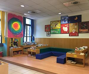 Biblioteca Civica, angolo lettura per bambini