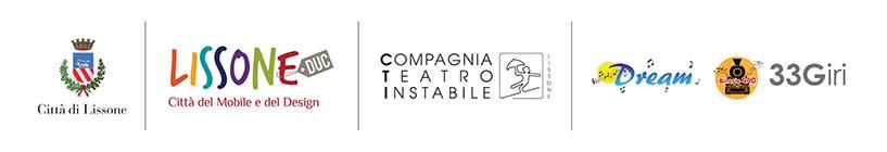 loghi Città di Lissone,  Lissone DUC  Città del Mobile e del Design, Compagnia Teatro Instabile,  Dream, 33Giri;