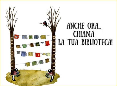 Lissone - Biblioteca Civica - ANCHE ORA...CHIAMA LA BIBLIOTECA!