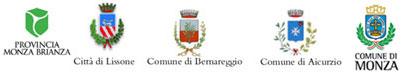 Logo Provincia Monza Brianza | Città di Lissone | Comune di Bernareggio | Comune di Aicurzio