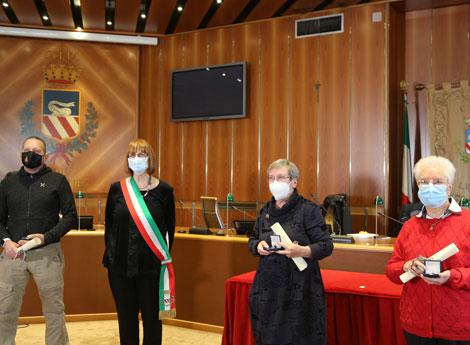 """Immagine Premiazione """"Premio Angelo d'oro 2020"""""""