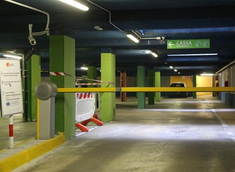 Lissone - Parcheggio interrato di Piazza Libertà
