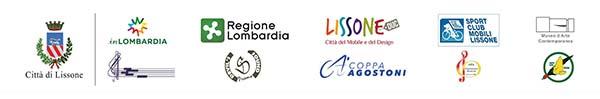 loghi Citta di Lissone | inLombardia | Regione Lombardia | Lissone DUC | Sport Club Mobili Lissone | Museo d'Arte Contemporanea | Corpo Bandistico S.Cecilia | Devil's Sound | Coppa Agostoni | Consonanza Musicale | Gruppo Alpini Lissone