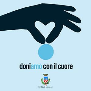 Logo immagine doniamo con il cuore