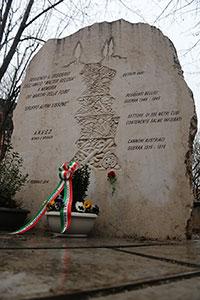 Immagine Monumento vittime delle Foibe Lissone Giorno del Ricordo