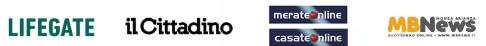 loghi LIFEGATE, il Cittadino; merateonline - casateonline; MBNews;