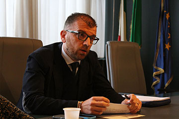 Immagine Alessandro Merlino assessore al Commercio