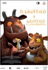 """immagine locandina film """"Il Gruffalò"""" e """"Gruffalò e la sua piccolina"""""""