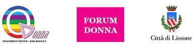 Loghi: QDonna - Forum Donna - Città di Lissone