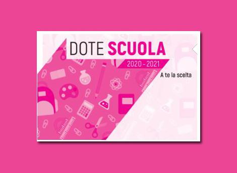 Logo Dote Scuola regione Lombardia 2020/21