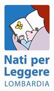 """Logo Progetto """"Nati per leggere"""" Lombardia"""