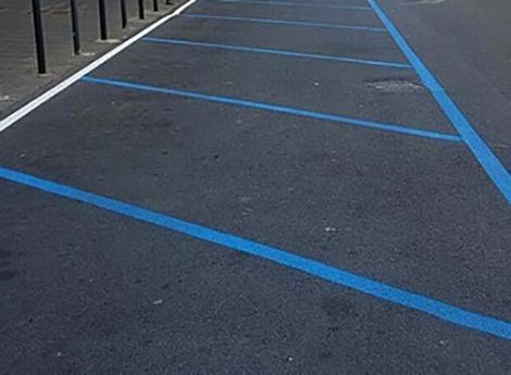 Lissone - strisce blu